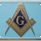 Masonic License Plate