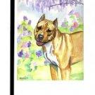 """Pit Bull Terrier - 11""""""""x15"""""""" 2-Sided Garden Banner"""
