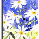 Daisies and Bees Toland Art Banner