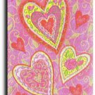 Lovely Hearts Toland Art Banner
