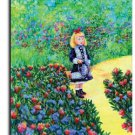 Renoir's Girl with Watering Can Toland Art Banner