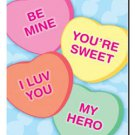 Candy Hearts Toland Art Banner