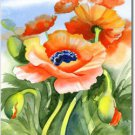Poppies Posing Toland Art Banner