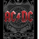 AC/DC Textile Poster (Black Ice)