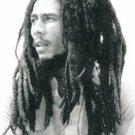 Bob Marley Textile Poster (B&W Portrait)