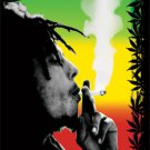 Bob Marley Textile Poster (Herb)