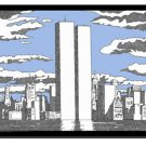 USA Poster (Twin Towers)