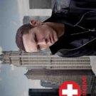 Eminem Textile Poster (Skyline)