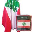 Lebanon Fleece Blanket
