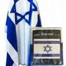Israel Fleece Blanket