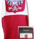 Poland Fleece Blanket (Eagle)