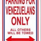 Venezuela Parking Sign