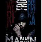 Marilyn Manson Fabric Poster (American)