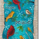 Peace Birds Toland Art Banner