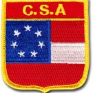 Stars and Bars Shield Patch (First Confederate)