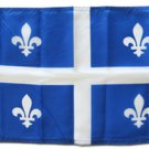 "Quebec - 12""X18"" Nylon Flag"