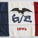 """Iowa - 12""""""""X18"""""""" Nylon Flag"""