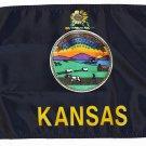 """Kansas - 12""""""""X18"""""""" Nylon Flag"""