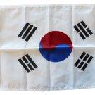 """South Korea - 12""""""""X18"""""""" Nylon Flag"""