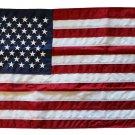 """USA - 12"""""""" x 18"""""""" Nylon Flag (Sewn)"""