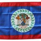 "Belize - 12""""X18"""" Nylon Flag"