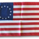 "Betsy Ross - 12""""X18"""" Nylon Flag"