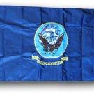 Navy - 2'X3' Double-Sided Nylon Flag