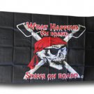 What Happens On Board Stays On Board - 3'X5' Nylon Flag