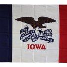 Iowa - 3'X5' Polyester Flag