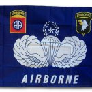 Airborne - 3'X5' Polyester Flag