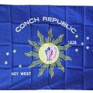 Conch Republic - 3'X5' Polyester Flag