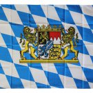 Bavaria - 3'X5' Polyester Flag (Lions)