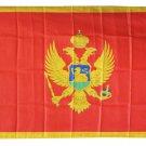Montenegro - 3'X5' Polyester Flag