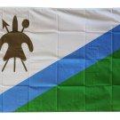 Lesotho (1987-2006) - 3'X5' Polyester Flag