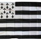 Bretagne - 3'X5' Polyester Flag