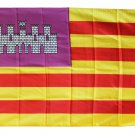 Balearic Islands - 3'X5' Polyester Flag