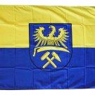 Upper Silesia - 3'X5' Polyester Flag