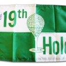 "19th Hole - 12""""x18"""" Nylon Flag"