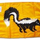 """Skunk - 12""""""""x18"""""""" Nylon Flag"""