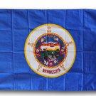 Minnesota - 3' x 5' Triple-Knit Polyester Flag