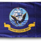 Navy - 3'x5' Triple-Knit Polyester Flag