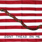 First Navy Jack - 2'x3' Cotton Flag