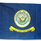 Navy Retired - 3'x5'  Polyester Flag