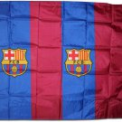 FC Barcelona - 3'x5' Polyester Flag (Vertical Stripes)