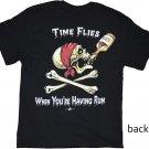 Time Flies Cotton T-Shirt (L)