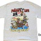 Pirate's Life Cotton T-Shirt (L)