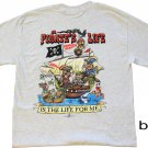 Pirate's Life Cotton T-Shirt (XL)