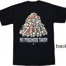 No Prisoners Taken Cotton T-Shirt (L)