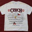 Czech Republic Definition T-Shirt (XXL)