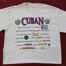 Cuba Definition T-Shirt (L)